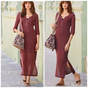 Peruvian Connection Casablanca Pima Cotton Dress M
